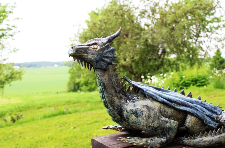 Dragon. About 3000 SEK. Mostly produced on order in different variations. Stoneware.
