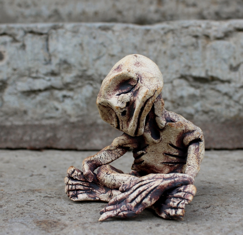 Monster. 500 SEK. Available in several variations. Stoneware.