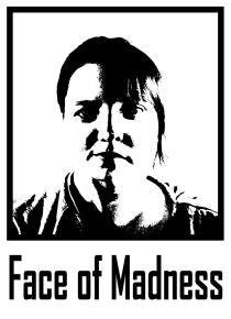 Madelen Rensmo Karin Eklund Face of Madness vit
